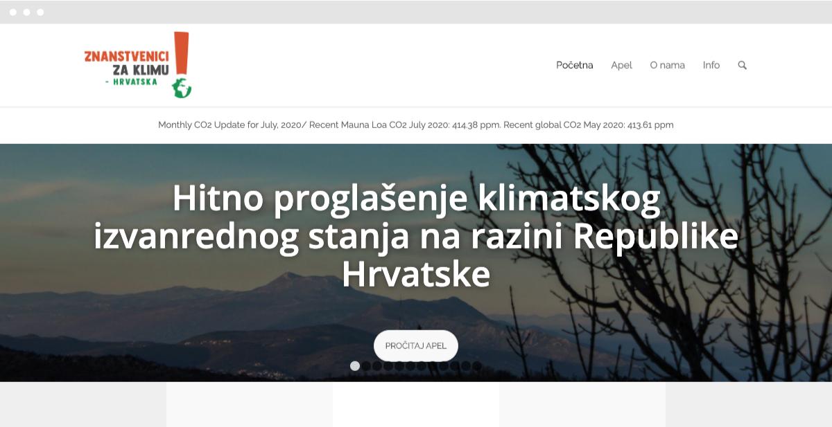 Znanstvenici za klimu - Hrvatska